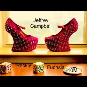 Jeffrey Campbell Rare spiked platforms. PRICKLY